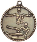 High Relief Medallion - Male Gymnastics Gymnastics Awards