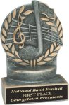 Music - Wreath Resin Trophy Music Trophy Awards
