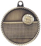 High Relief Medallion - Volleyball Volleyball Awards